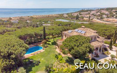 Propriété de luxe avec vue sur la mer à vendre à Vale do Lobo