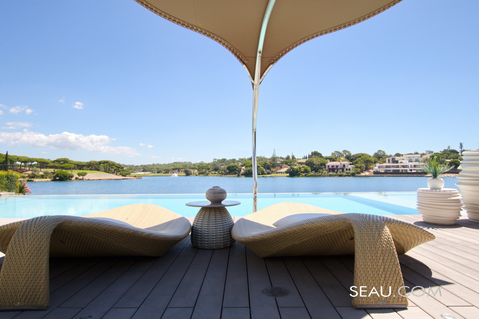 Amazing views from any point of the villa with the heated infinity pool inviting for a swim anytime of the year