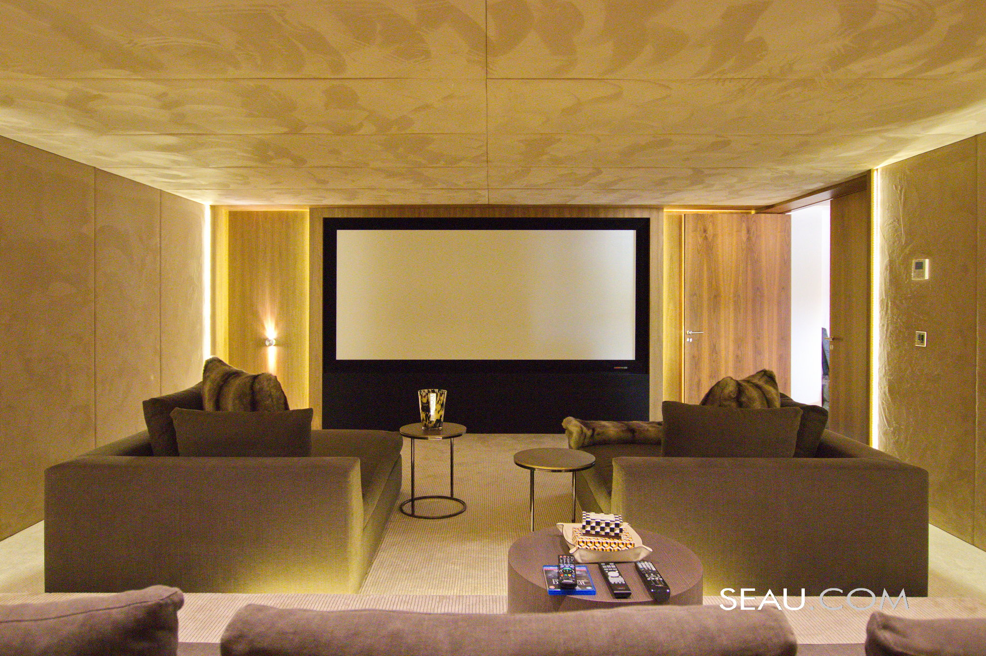 State of the art cinema room